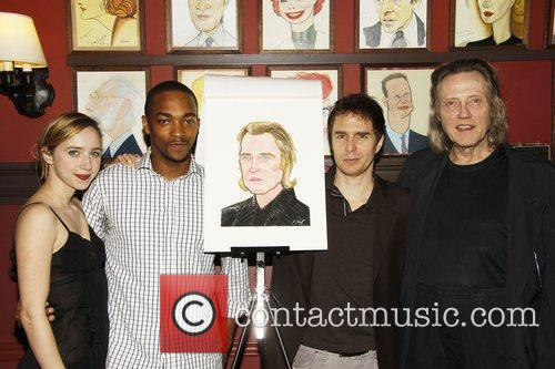 Zoe Kazan, Anthony Mackie, Christopher Walken, Sam Rockwell