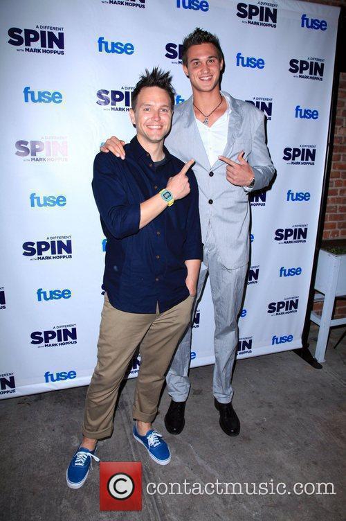 Mark Hoppus and Danilo Gallinari FUSE's 'A Different...