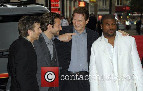Quinton Jackson, A-Team, Bradley Cooper, Liam Neeson and Sharlto Copley 3