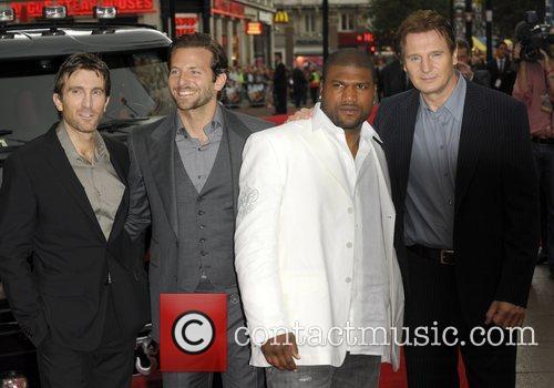Quinton Jackson, A-Team, Bradley Cooper, Liam Neeson and Sharlto Copley 1
