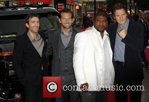 Quinton Jackson, A-Team, Bradley Cooper, Liam Neeson and Sharlto Copley 4