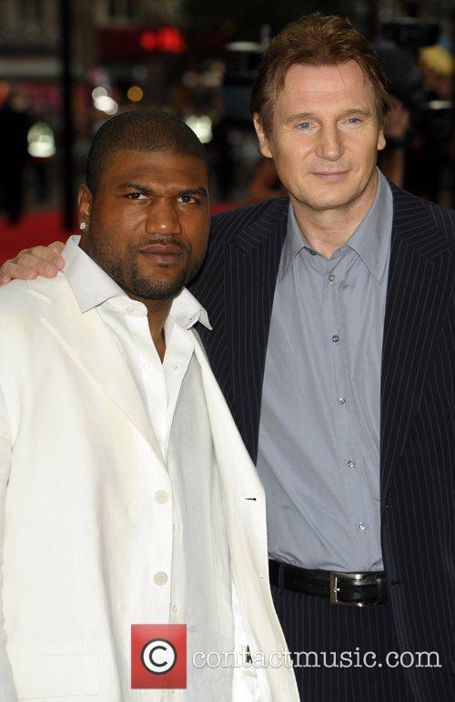 Quinton Jackson And Liam Neeson, Quinton Jackson, A-team and Liam Neeson 7