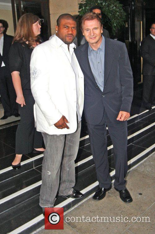 Quinton Jackson And Liam Neeson, Quinton Jackson, A-team and Liam Neeson 3