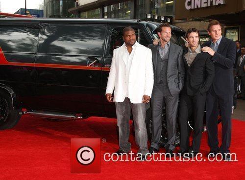 Quinton Jackson, A-Team, Bradley Cooper, Liam Neeson and Sharlto Copley 2