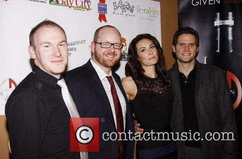 Sean Carlson, Jamie McGonnigal, Laura Benanti and Steven...
