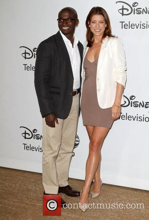 Taye Diggs, ABC, Beverly Hilton Hotel