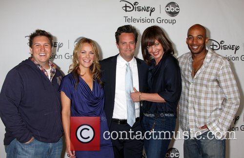 Nate Torrence, Allison Janney and Matthew Perry 6