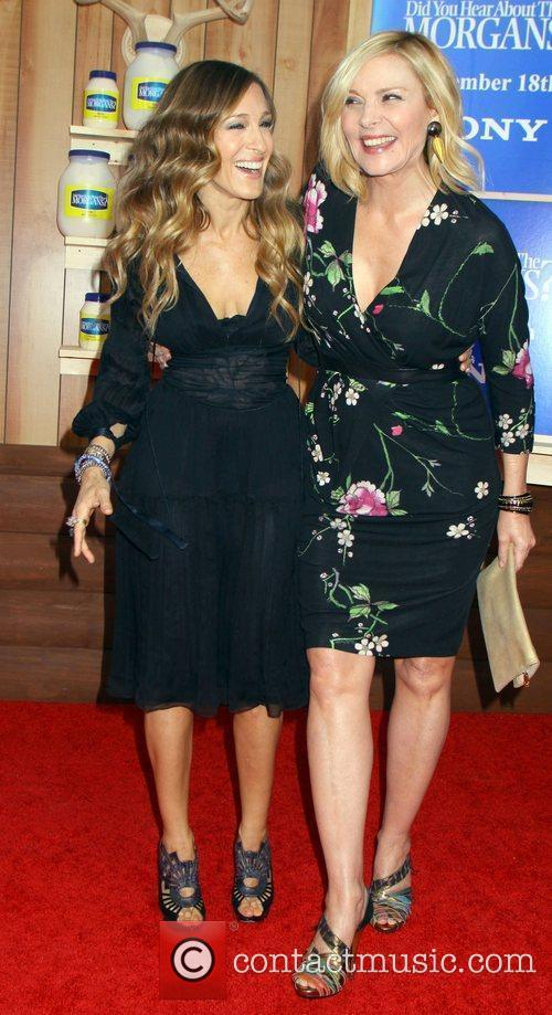 Sarah Jessica Parker and Kim Cattrall 2