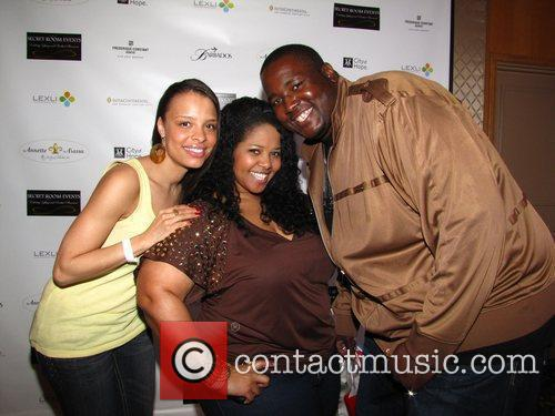 Antonique Smith, Guest and Quinton Aaron attends The...