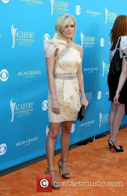 Carrie Underwood,  arrives for the 45th Annual...