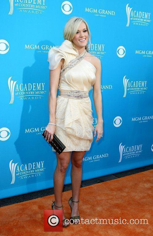 Arrives for the 45th Annual Academy of Country...