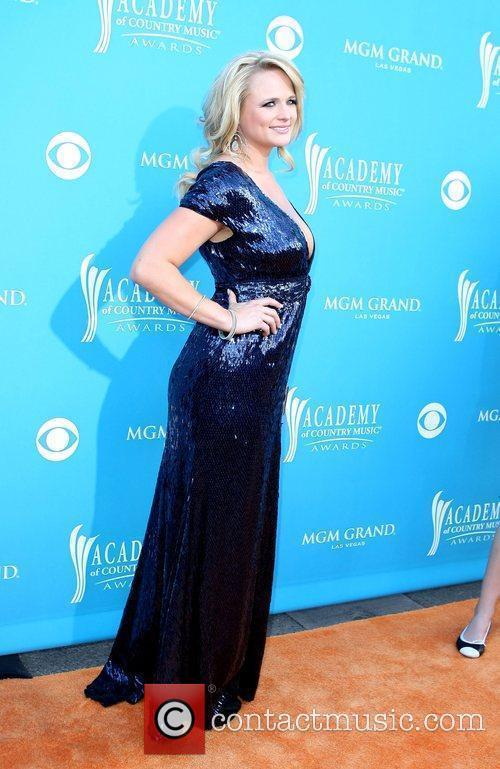 Miranda Lambert,  arrives for the 45th Annual...