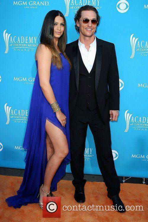 Camila Alves and Mathew McConaughey The 45th Annual...
