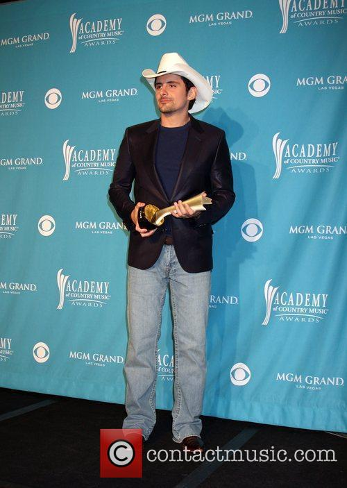Brad Paisley The 45th Annual Academy of Country...