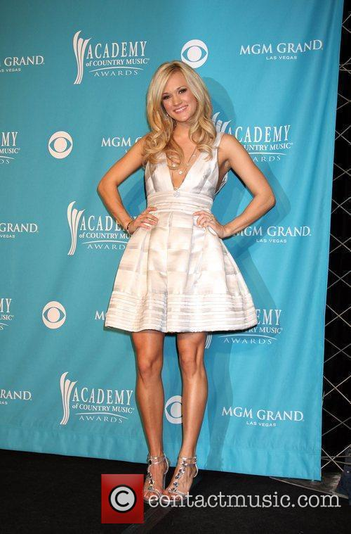 Carrie Underwood The 45th Annual Academy of Country...