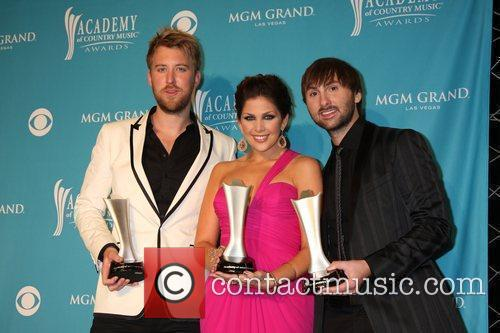 Lady Antebellum The 45th Annual Academy of Country...
