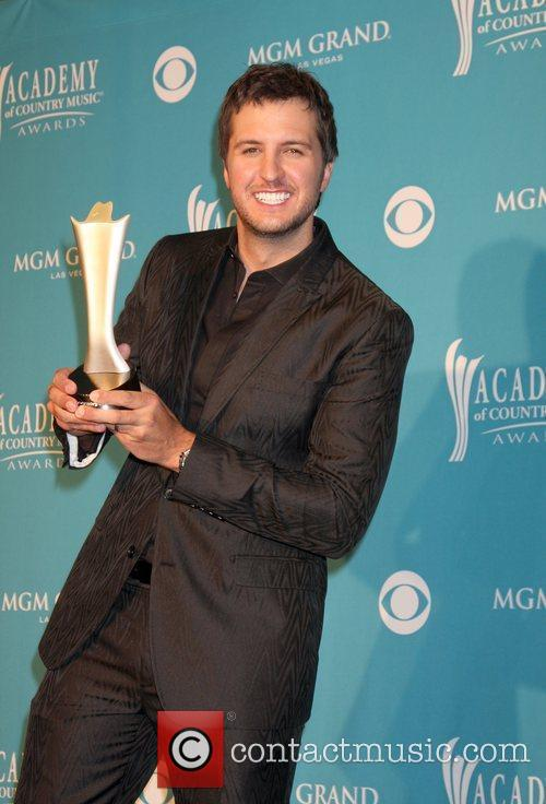 Luke Bryan The 45th Annual Academy of Country...