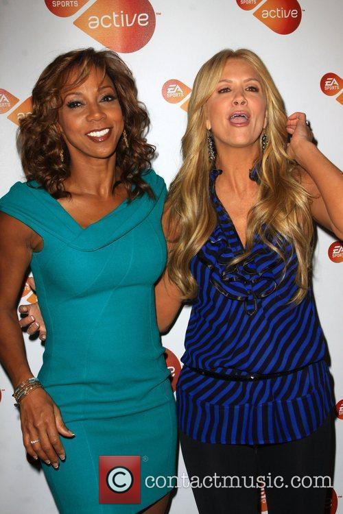 Holly Robinson Peete and Nancy O'Dell Active For...