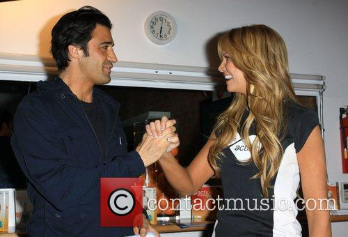 Gilles Marini and Nancy O'Dell Active For Life...
