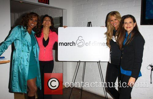 Holly Robinson Peete, Constance Marie, Nancy O'Dell and...