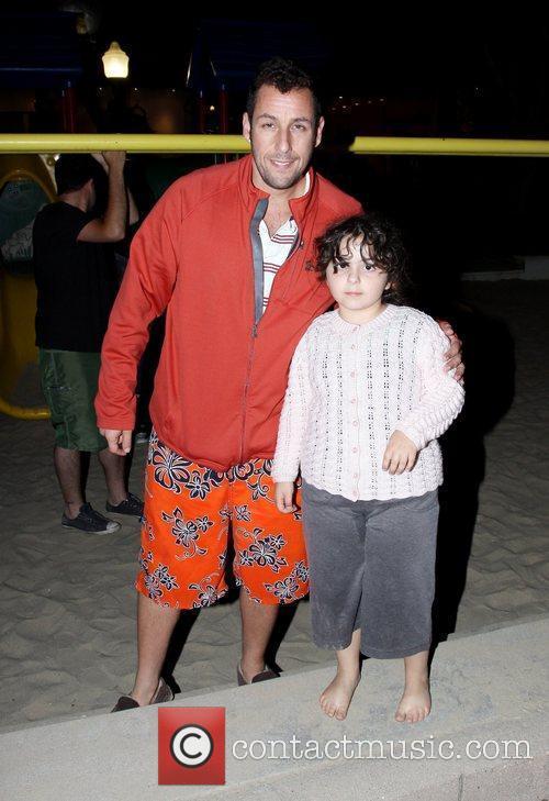 Adam Sandler and His Daughter 3