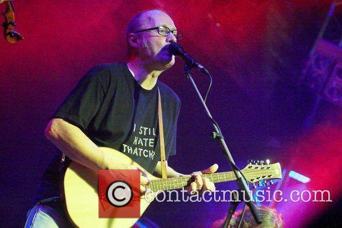 Adrian Edmondson of The Bad Shepherds playing at...
