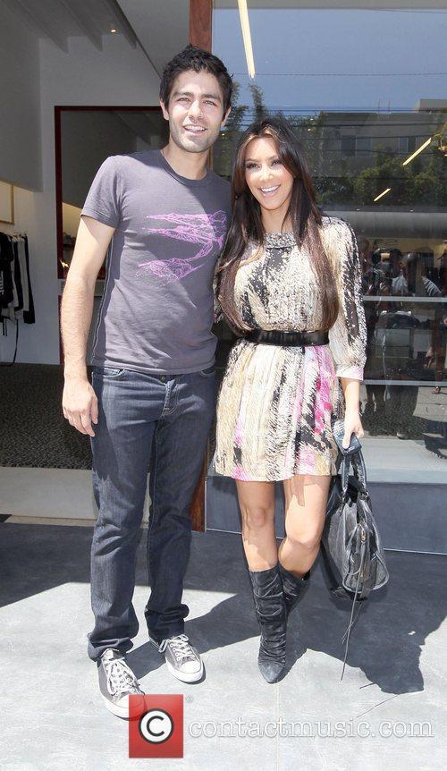 Kim Kardashian and Adrian Grenier 40
