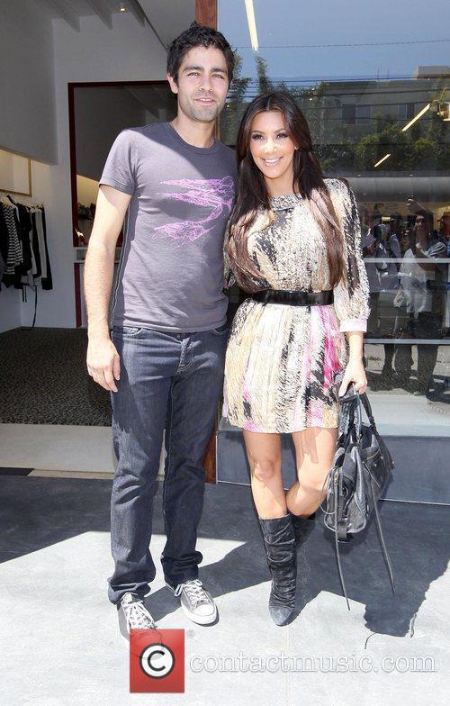 Kim Kardashian and Adrian Grenier 21