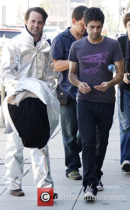 Adrian Grenier and Kim Kardashian 1