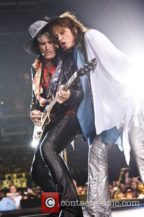 Joe Perry and Steven Tyler 10