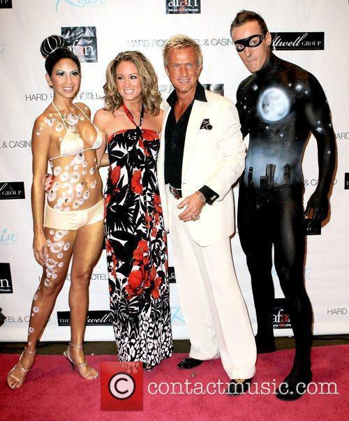 Chris Phillips and guests AFAN's 24th Annual Black...