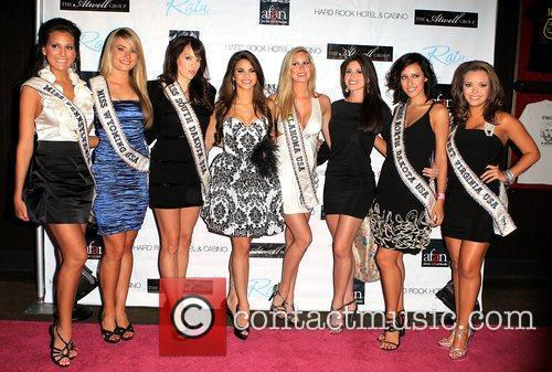Miss USA contestants AFAN's 24th Annual Black &...
