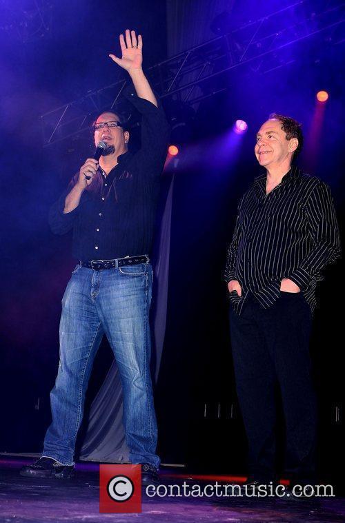 Penn Jillette and Teller of Penn & Teller...