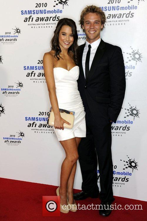 Rhiannon Fish and Lincoln Lewis The 2010 Samsung...