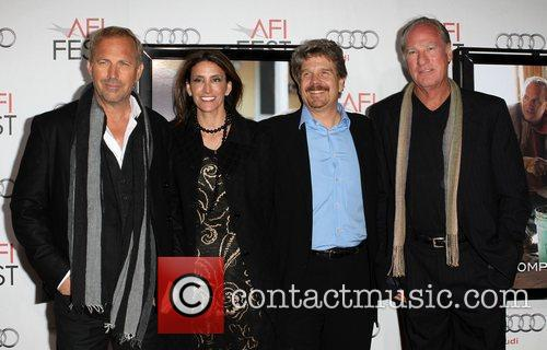 Kevin Costner, Claire Rudnick Polstein, John Wells and...
