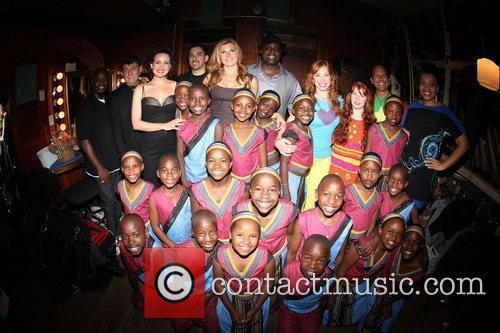 The African Children's Choir annual fundraising gala at...