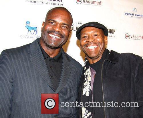 Dr. Bill Releford and Kevin Eubanks  VIP...