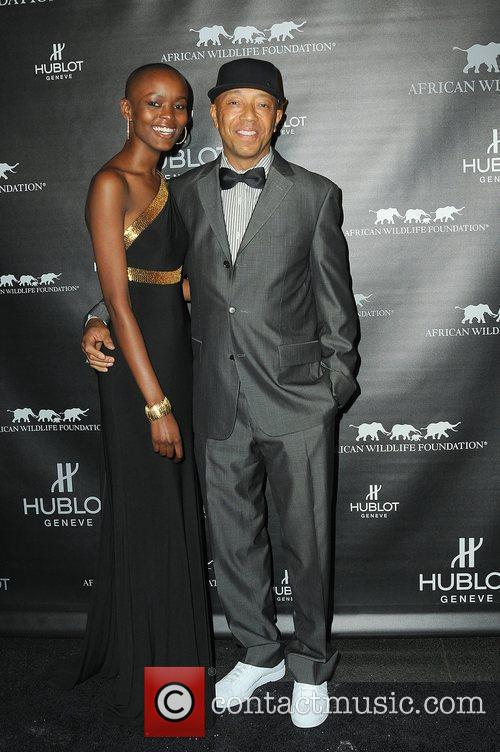 Flaviana Matata and Russell Simmons attends the 2010...