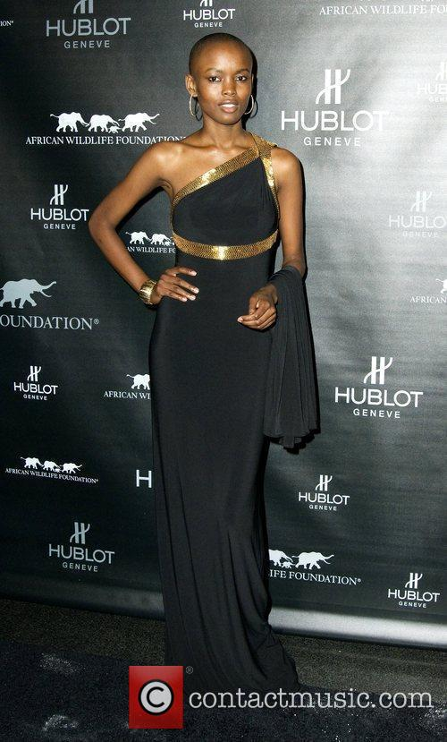 Flaviana Matata attends the 2010 African Wildlife Foundation...
