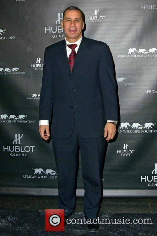 Governor David Paterson attends the 2010 African Wildlife...