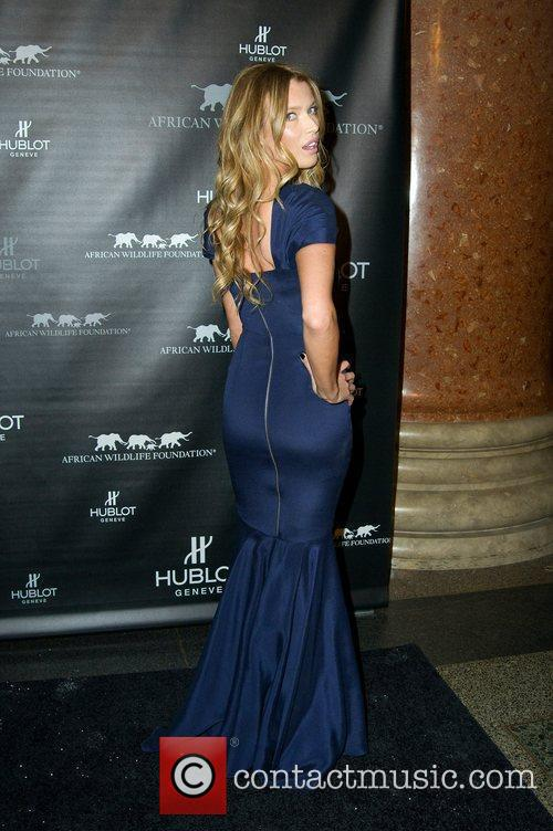 Veronica Varekova attends the 2010 African Wildlife Foundation...