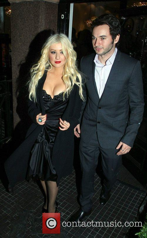 Christina Aguilera & Matt Rutler