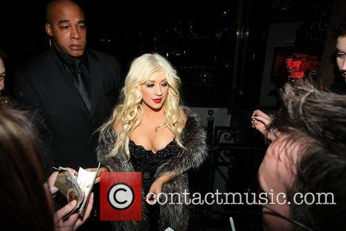 Christina Aguilera and Stephen Webster 3