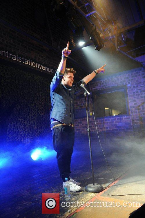 X-Factor finalist, Aiden Grimshaw, performing his sold out...