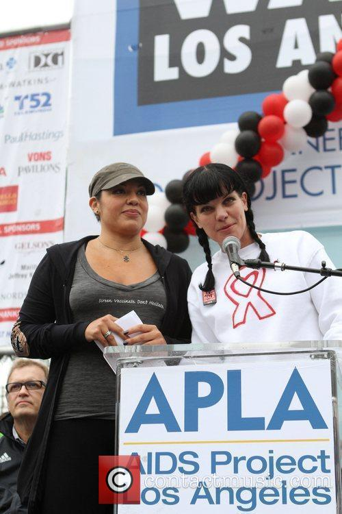 Sara Ramirez and Pauley Perrette 3