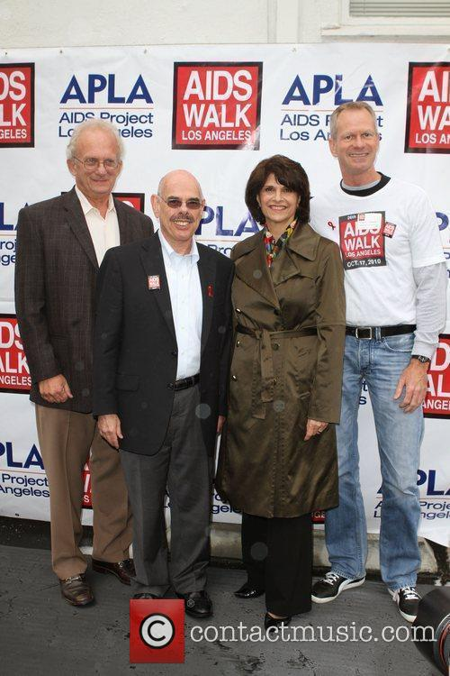 Congressman Henry Waxman and Guests 26th Annual AIDS...