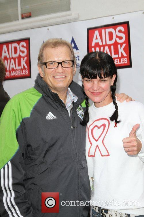 Drew Carey and Pauley Perrette 3
