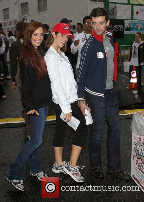 Jessica Sutta, Ana Ortiz and Michael Urie 11