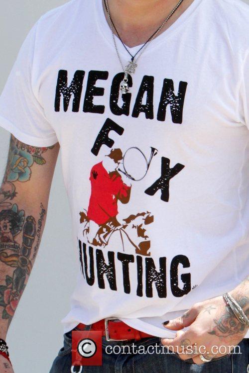 A.j. Mclean and Megan Fox 2