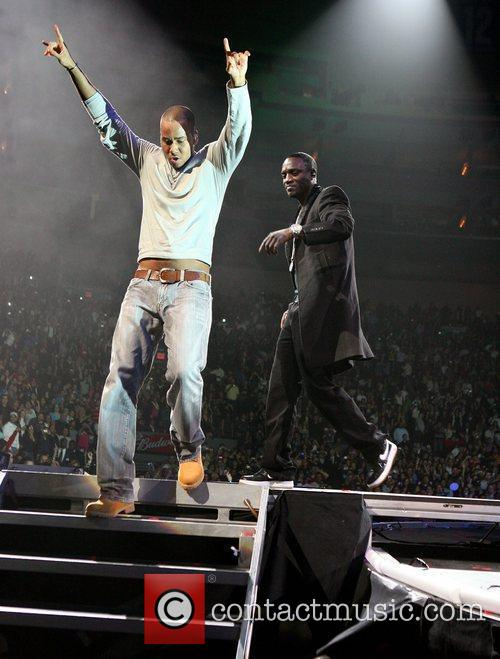 Performing live in concert at Madison Square Gardens
